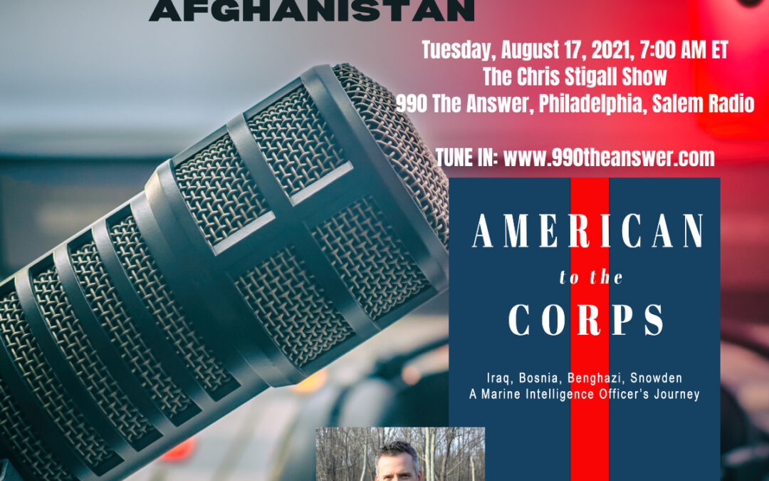 """""""American to the Corps,"""" Author Jonathon Myers joins the Washington Times Podcast."""